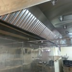 New exhaust hood at the Candlelight South